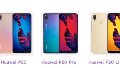 Huawei P20: Los tres modelos que no te dejarán indiferente