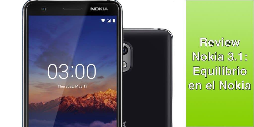 Nokia 3.1. Nokia sigue siendo la misma